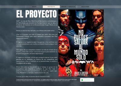 EL PROYECTO · WonderWard · Semana Mary Ward